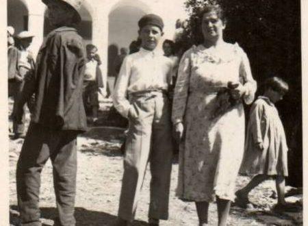 Ad un Santuario il 5 Agosto 1936