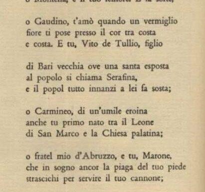 Un ventimigliese citato da Gabriele D'Annunzio ne La Canzone dei Dardanelli