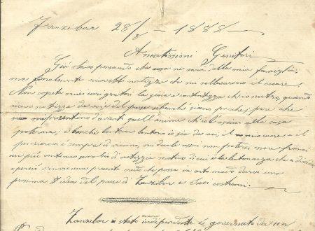 Da Zanzibar, un camporossino il 28 agosto 1888