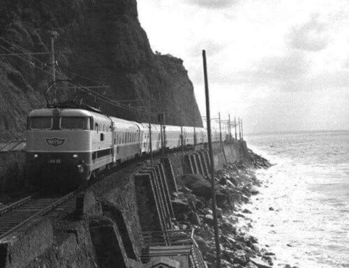Nelle lunghe notti sui treni nel levante di Liguria