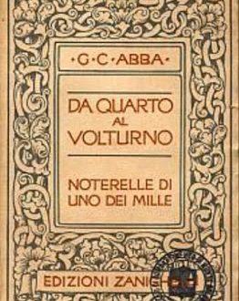 Giuseppe Cesare Abba, testimone e interprete del Risorgimento