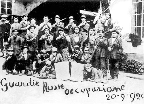 Antonio Gramsci a Savona. Seconda parte. Il biennio rosso e l'occupazione delle fabbriche