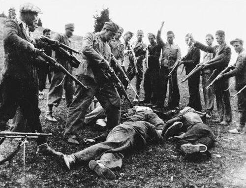Le atrocità degli ustascia croati contro ebrei, comunisti e serbi ortodossi sono ben note