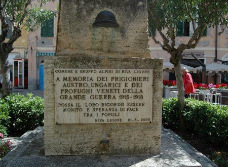 Frammenti di  memoria della Grande Guerra in Liguria