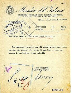 Ebrei stranieri in Italia ed ebrei italiani all'inizio della seconda guerra mondiale